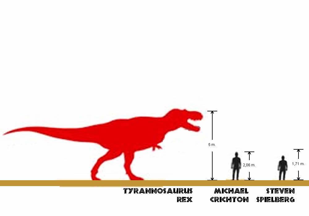 Tiranosaurio rex - Michael Crichton - Steven Spielberg